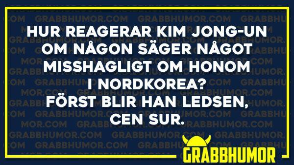 Hur reagerar Kim Jong-un...