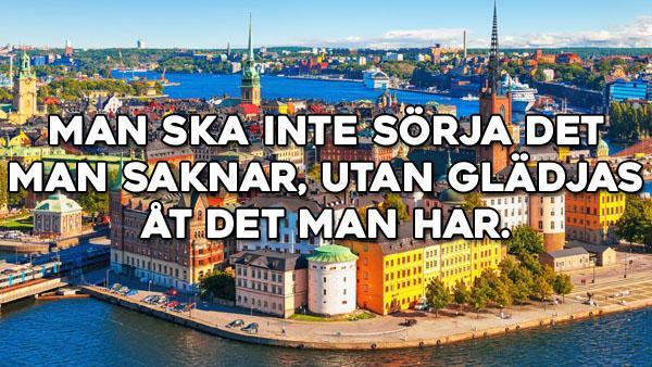Svenska ordspråk att minnas 276-300