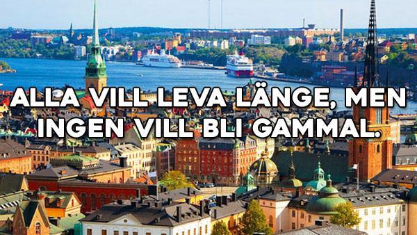 Svenska ordspråk att minnas 1-25