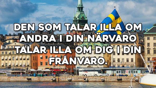 Svenska ordspråk att minnas 151-175
