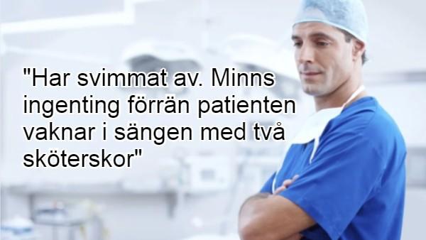 20 otroligt roliga citat från patientjournaler som får oss alla att skratta hysteriskt