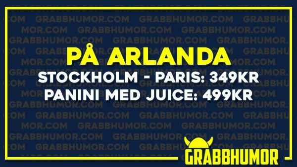 På Arlanda